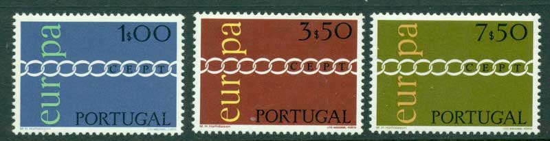 Portugal 1971 Europa MUH Lot15846