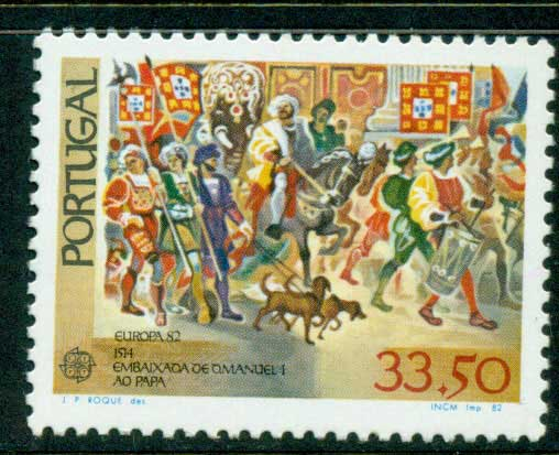 Portugal 1982 Europa MUH Lot15857