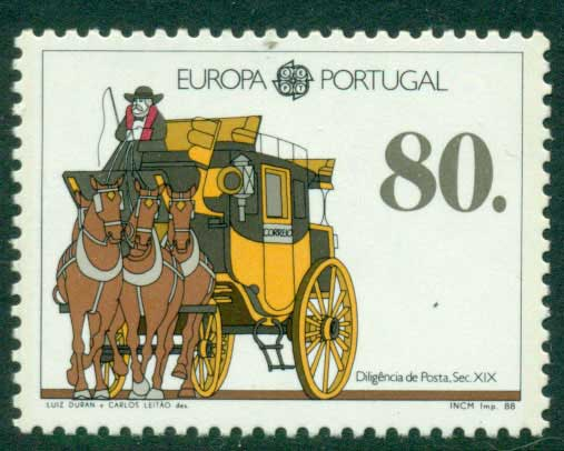 Portugal 1988 Europa MUH Lot15863