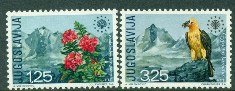 Yugoslavia 1970 Nature Protection MUH Lot15896
