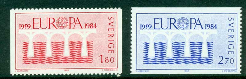 Sweden 1984 Europa MUH Lot15912