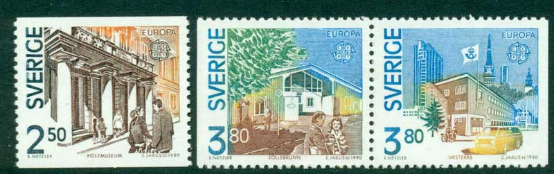 Sweden 1990 Europa MUH Lot15918