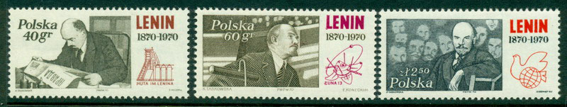 Poland 1970 Lenin MUH Lot16123