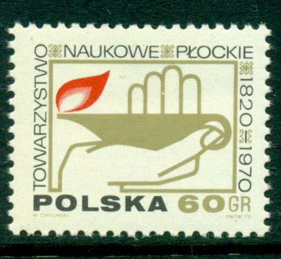 Poland 1970 Plock Scientific Society MUH Lot16127