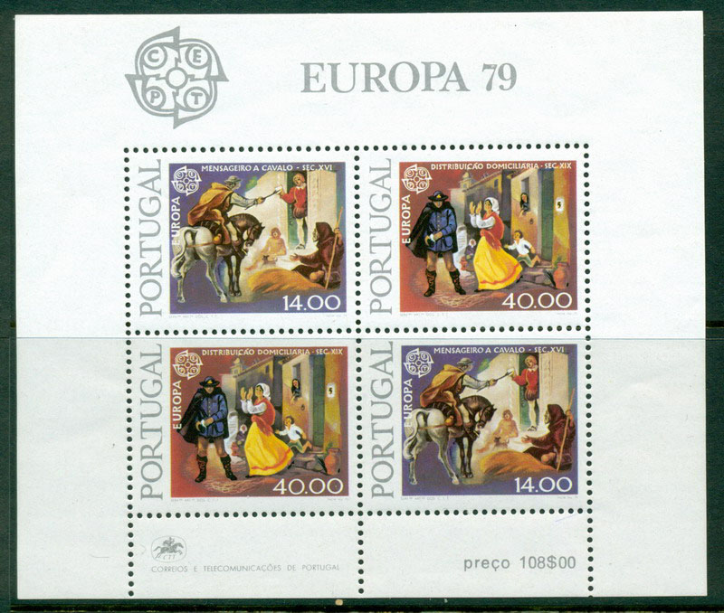 Portugal 1979 Europa MS MUH Lot16147
