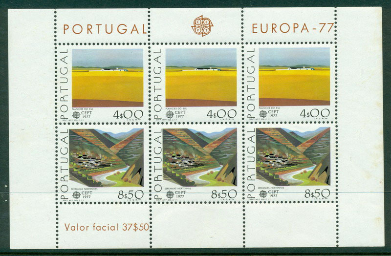 Portugal 1977 Europa (tones) MS MUH Lot16152
