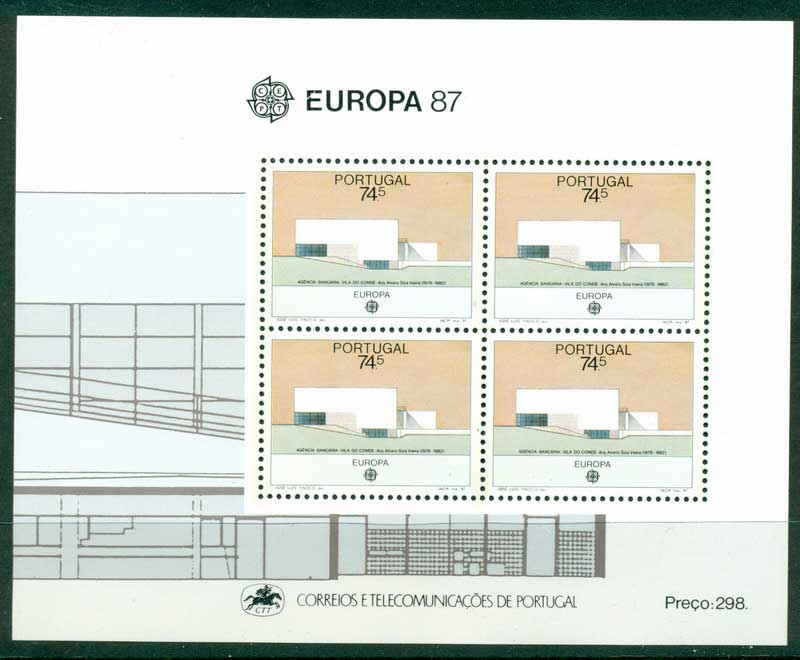 Portugal 1987 Europa MS MUH Lot16159