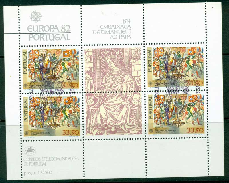 Portugal 1982 Europa MS CTO Lot16163