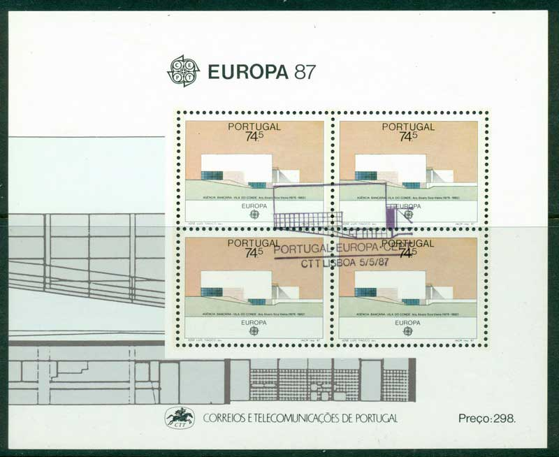 Portugal 1987 Europa MS CTO Lot16168