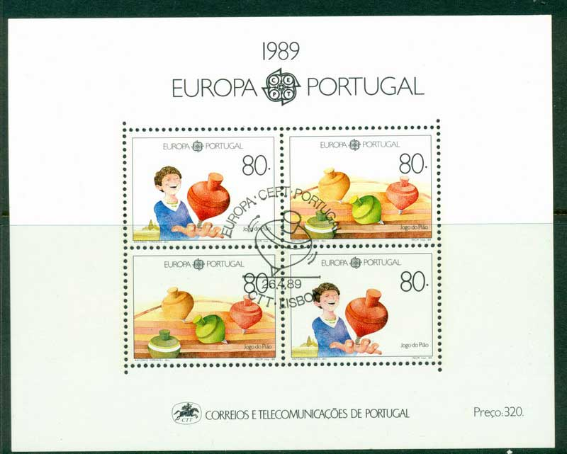 Portugal 1989 Europa MS CTO Lot16170