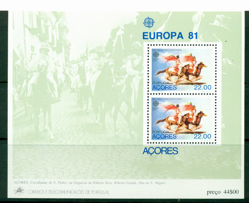 Azores 1981 Europa MS MUH Lot16173