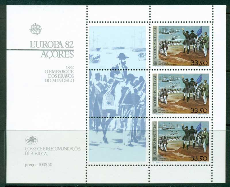 Azores 1982 Europa MS MUH Lot16174