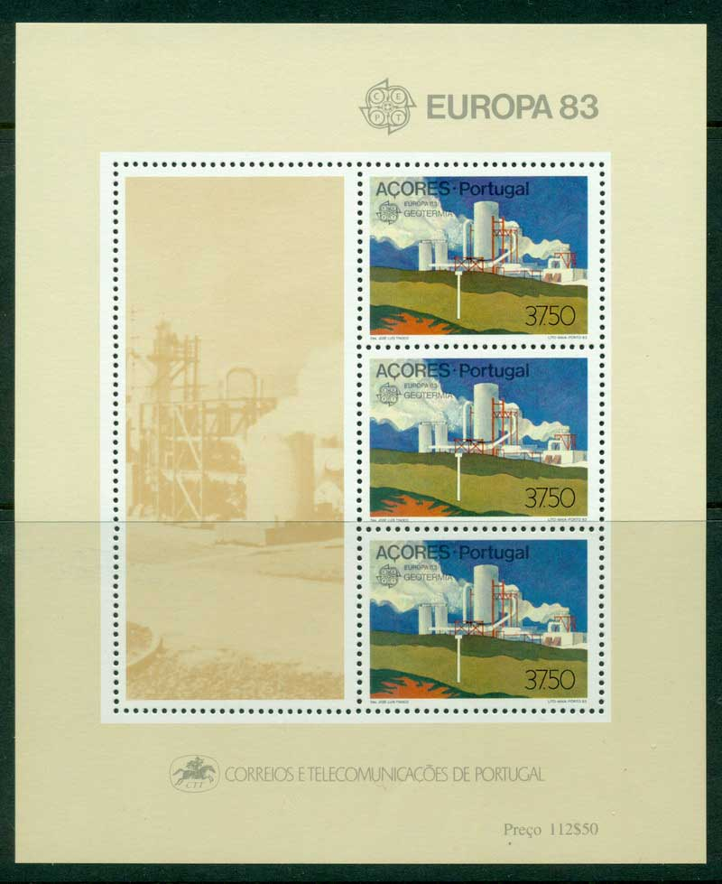 Azores 1983 Europa MS MUH Lot16175