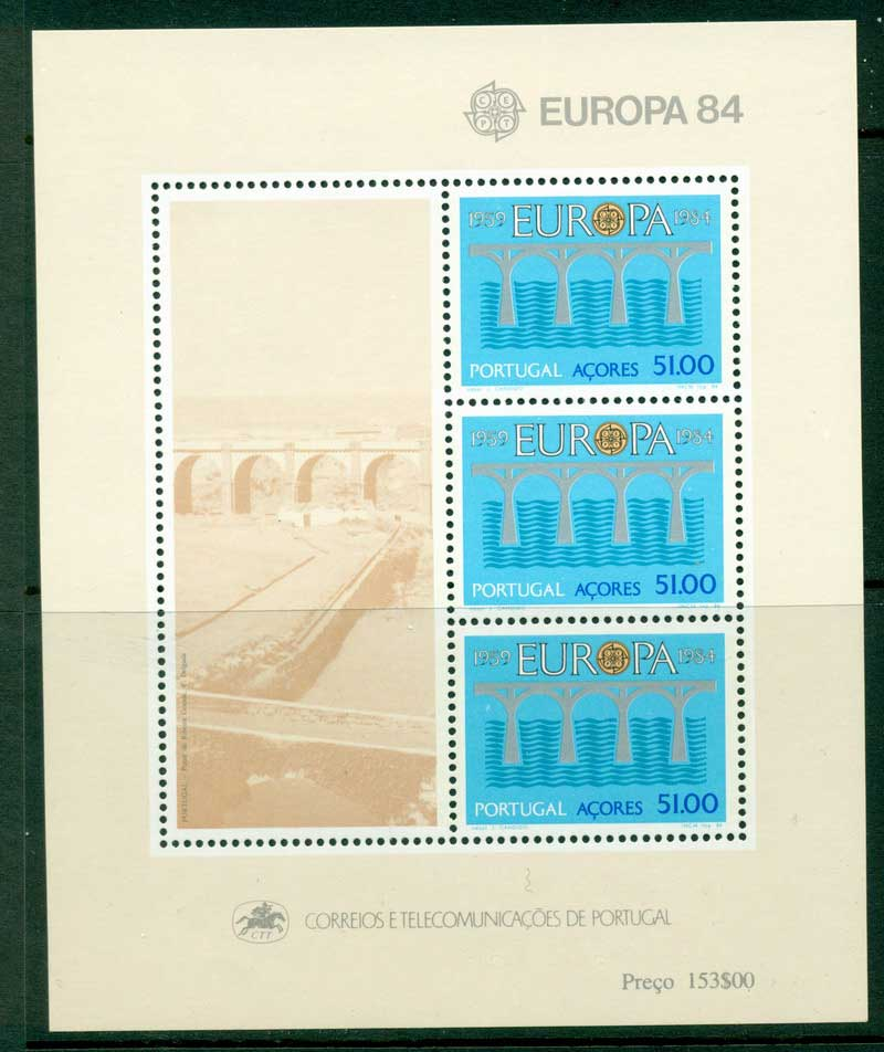 Azores 1984 Europa MS MUH Lot16177