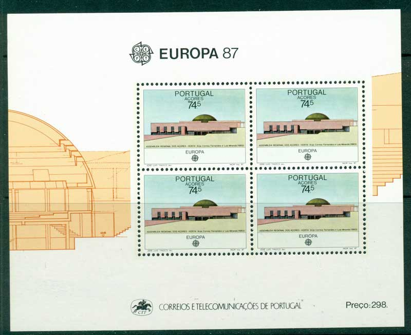 Azores 1987 Europa MS MUH Lot16180