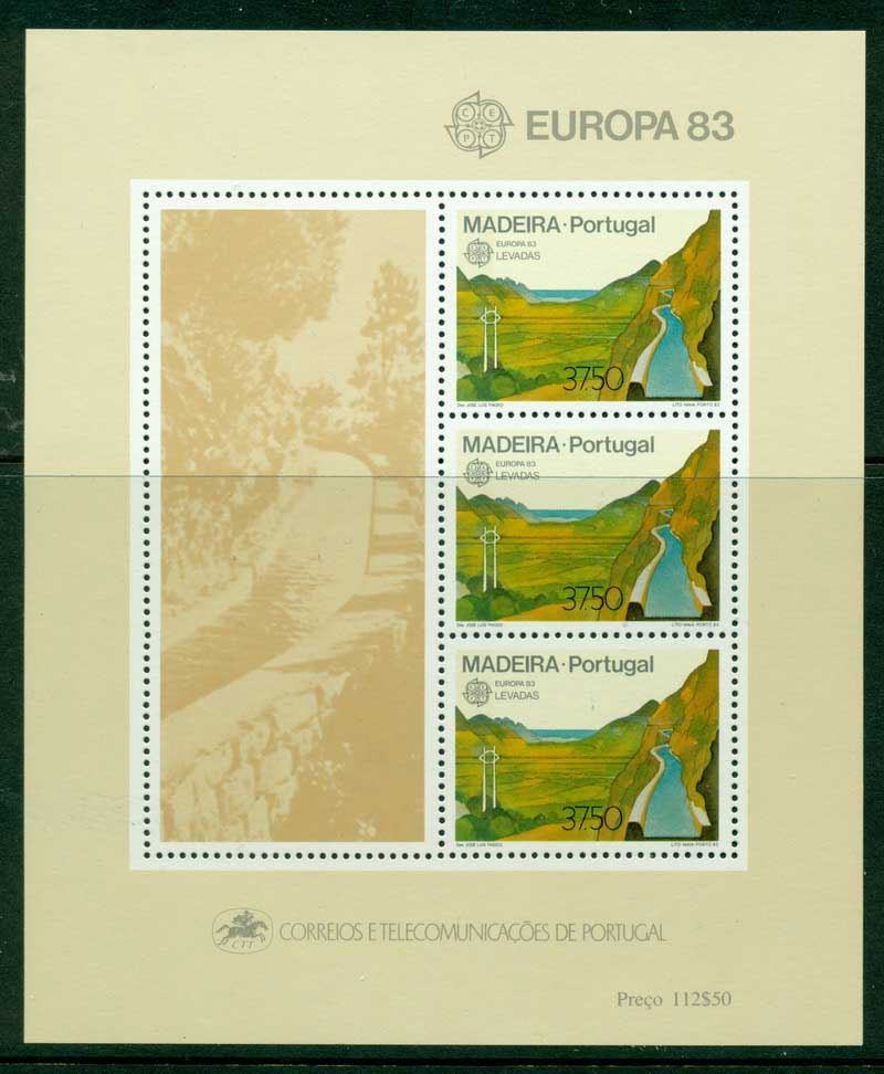 Madeira 1983 Europa MS MUH Lot16196