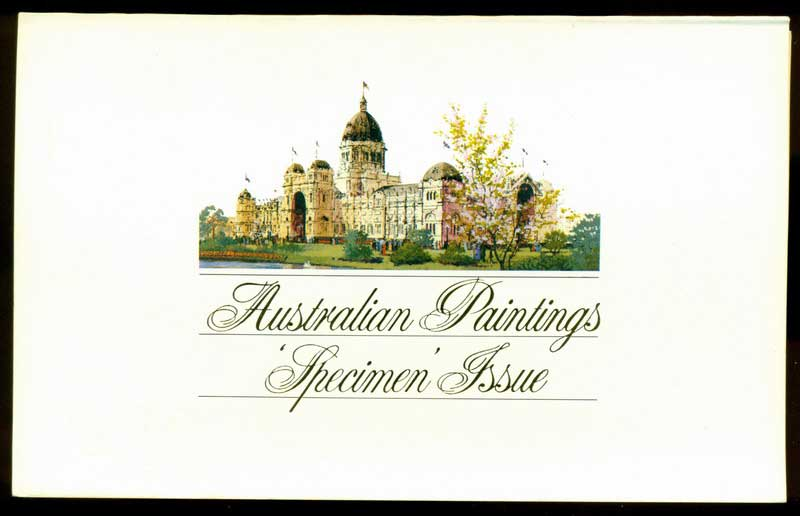 Australia 1983 SPECIMEN Paintings POP Lot16235