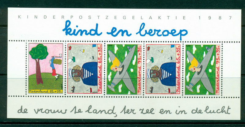 Netherlands 1987 Child Welfare MS MUH Lot16291