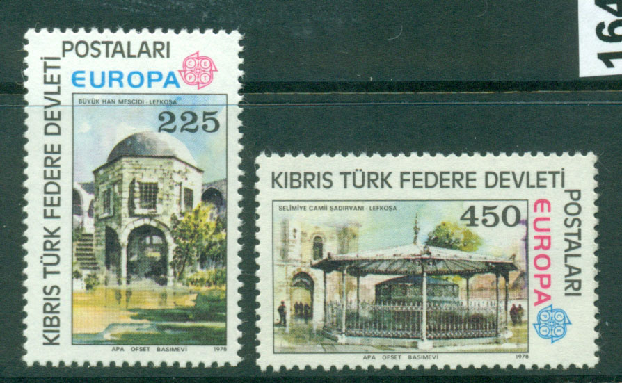 Cyprus Turkish 1978 Europa MUH Lot16474