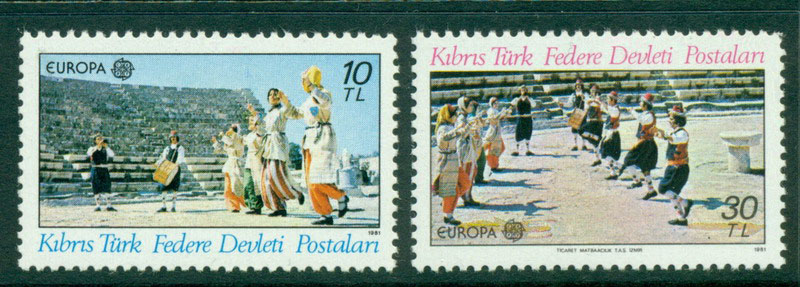 Cyprus Turkish 1981 Europa MUH Lot16477