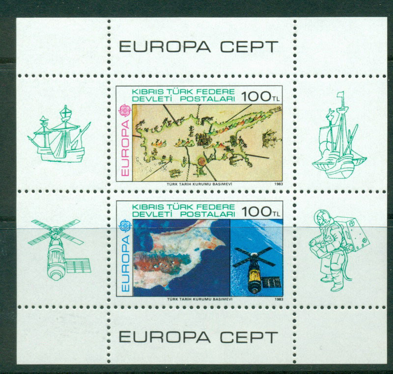 Cyprus Turkish 1983 Europa MS MUH Lot16489
