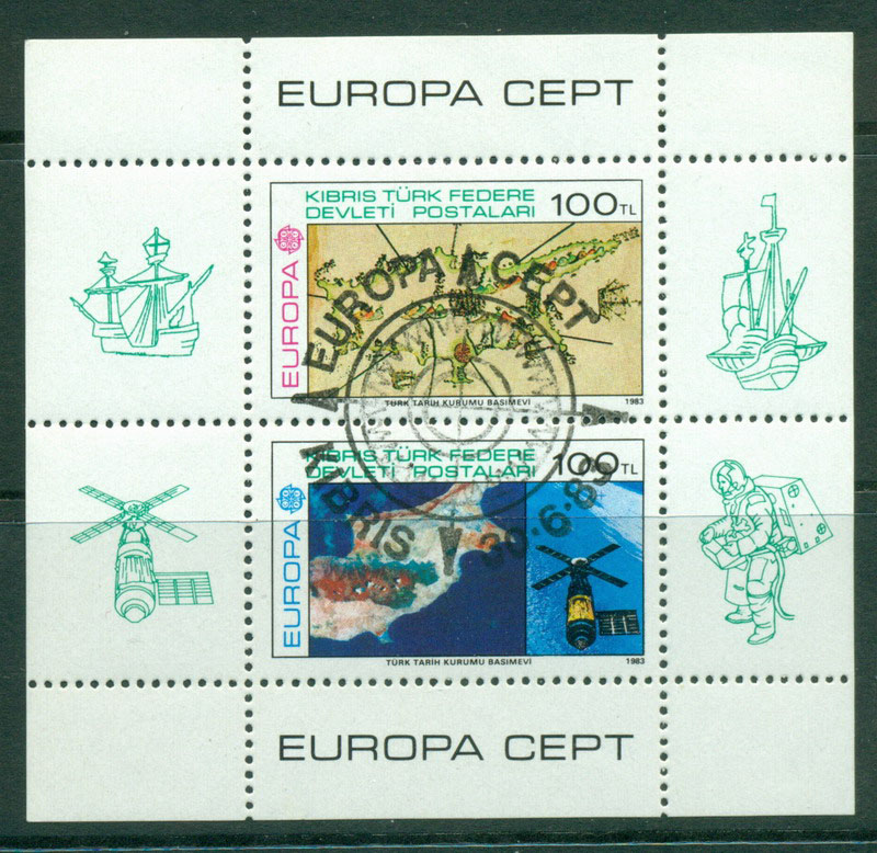 Cyprus Turkish 1983 Europa MS CTO Lot16490