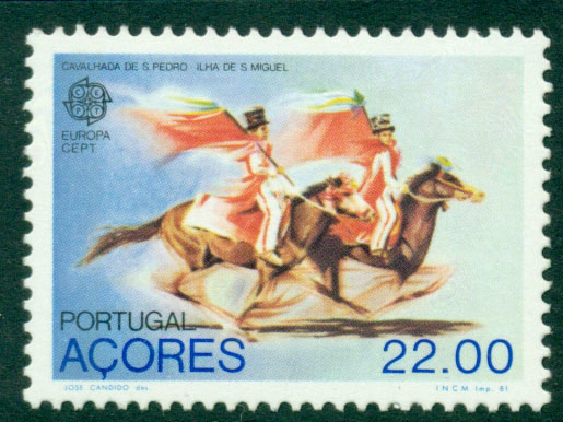 Azores 1981 Europa MUH Lot16509