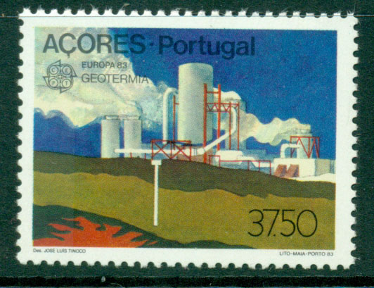 Azores 1983 Europa MUH Lot16513