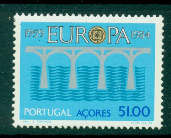 Azores 1984 Europa MUH Lot16516