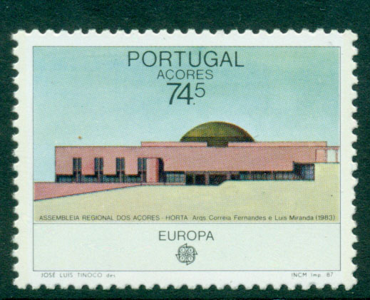 Azores 1987 Europa MUH Lot16521