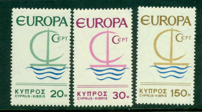 Cyprus 1966 Europa MUH Lot16716 - Click Image to Close