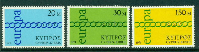 Cyprus 1971 Europa MUH Lot16735 - Click Image to Close