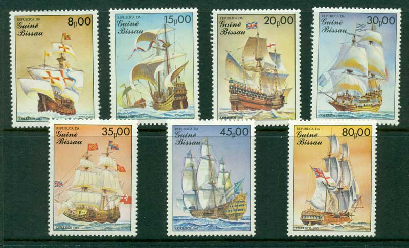 Guinea Bissau 1985 Ships MUH Lot16805