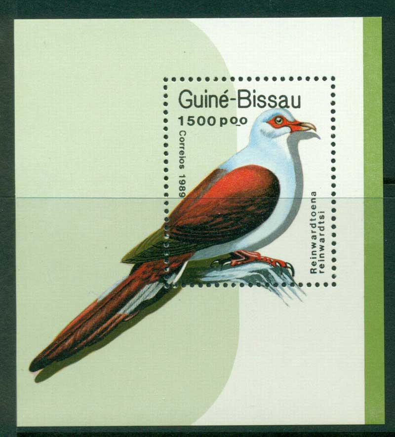 Guinea Bissau 1989 Birds MS MUH Lot16816