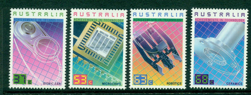 Australia 1987 Technology MUH Lot17208