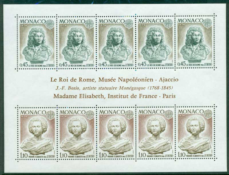 Monaco 1974 Europa MS MUH Lot17410