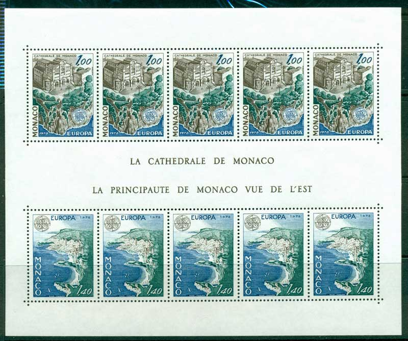 Monaco 1978 Europa MS MUH Lot17414