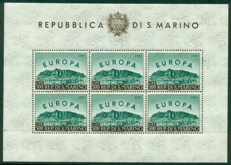 San Marino 1961 Europa MS MUH Lot17438