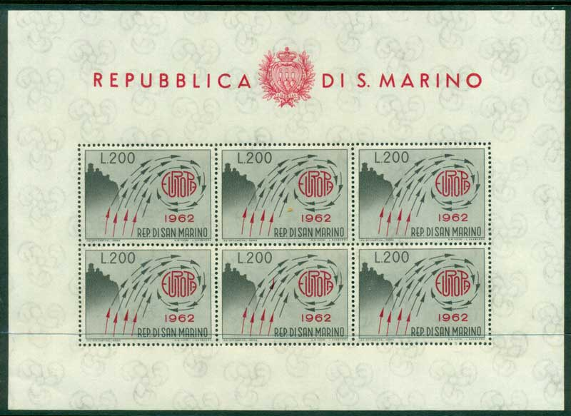 San Marino 1962 Europa MS MUH Lot17439