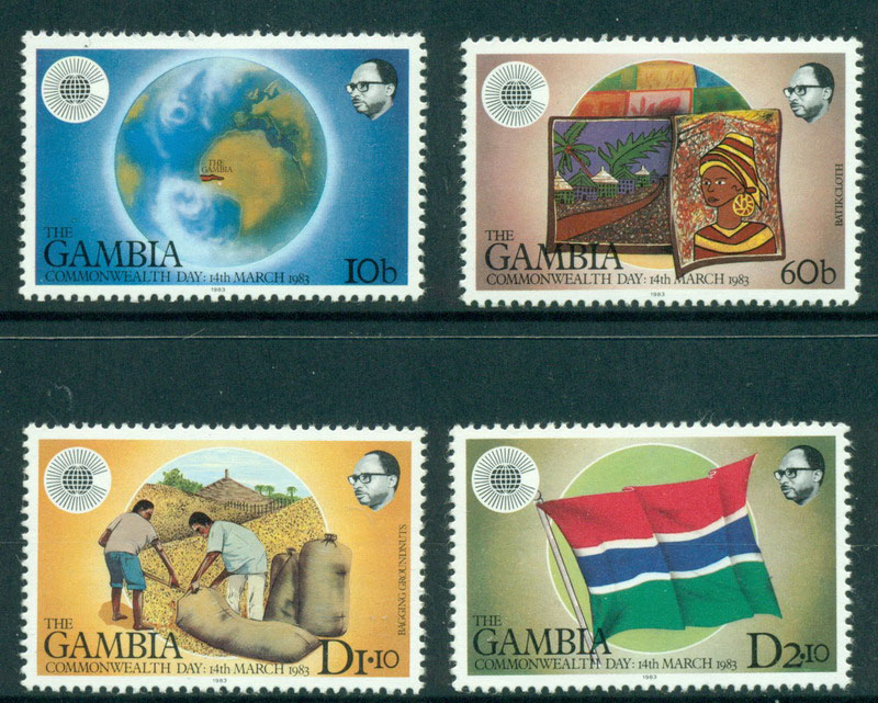 Gambia 1983 Commonwealth Day MUH Lot17484