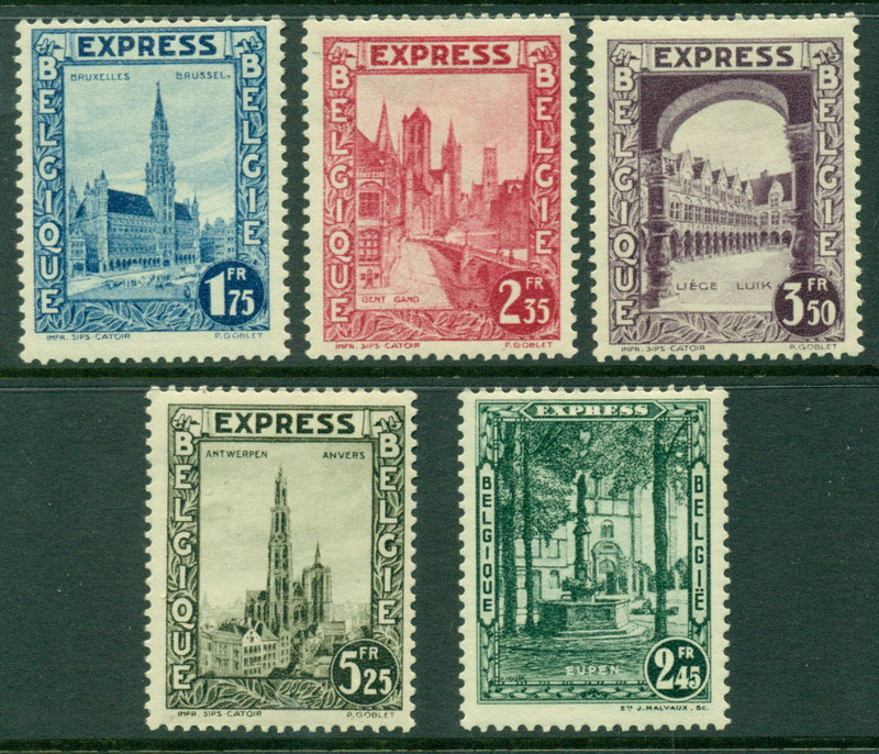 Belgium 1929 Express MH Lot17519
