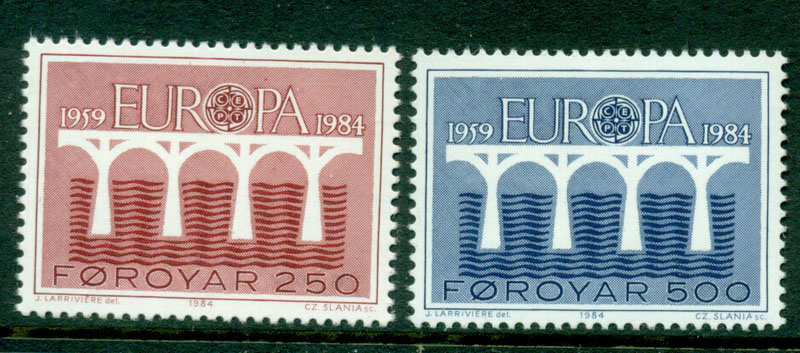 Faroe Is 1984 Europa MUH Lot17557