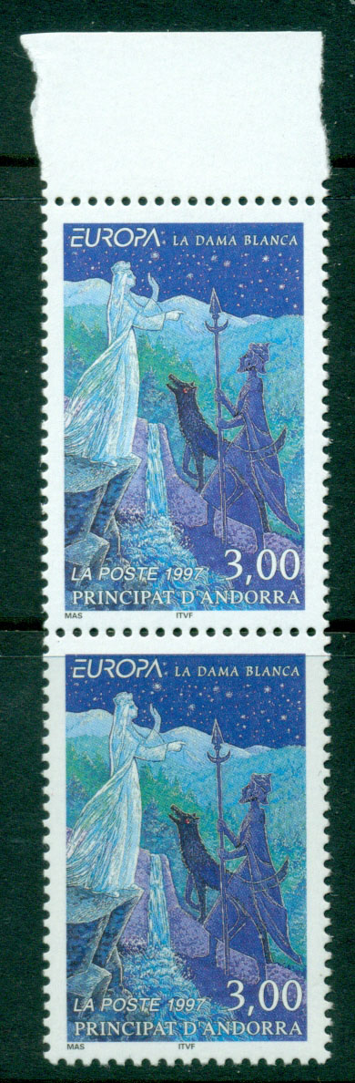 Andorra (Fr) 1998 Europa Pair MUH Lot17596