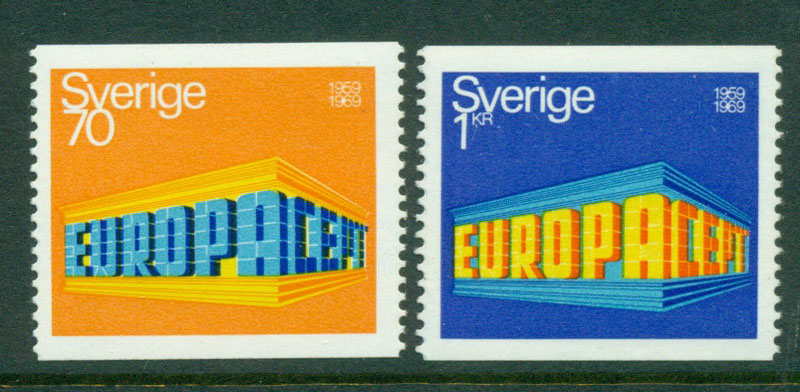 Sweden 1969 Europa P14v MUH Lot17617