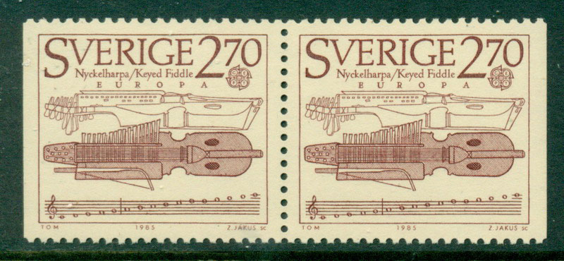 Sweden 1985 Europa Booklet Pr MUH Lot17625