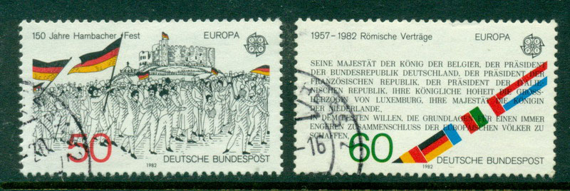 Germany 1982 Europa FU Lot17643