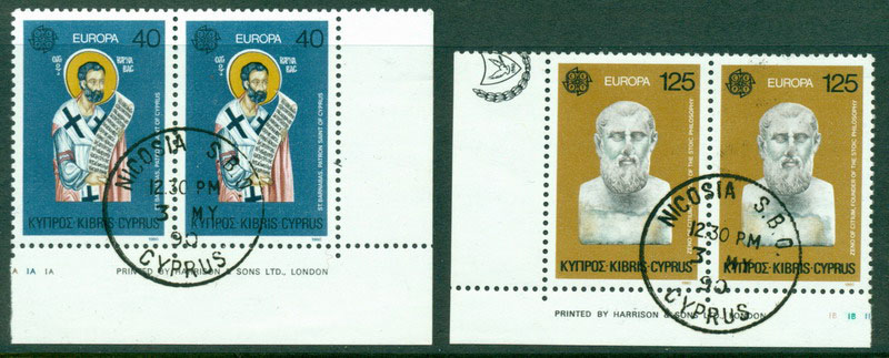 Cyprus 1980 Europa pair FU Lot17664