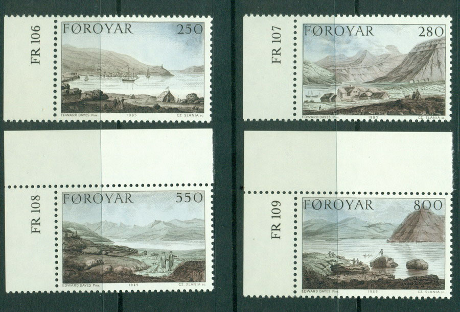Faroe Is 1985 Landscapes MUH Lot17881
