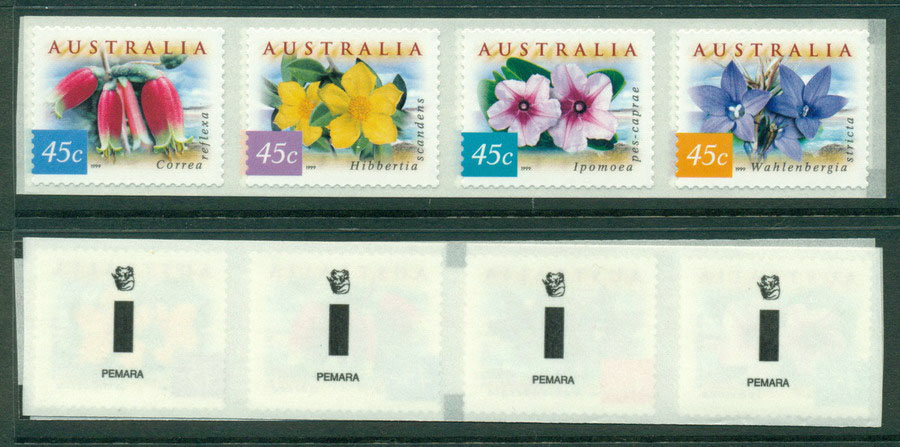 Australia 1999 Coastal Flowers St. Pemara 1KP&S MUH Lot18598 - Click Image to Close