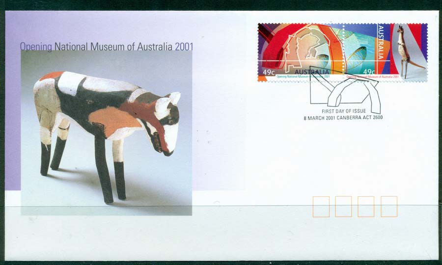 Australia 2001 National Museum FDC Lot19313
